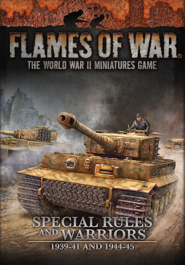 Flames of War version 4 Special Rules and Warriors